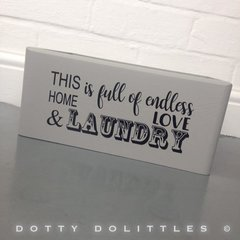Love & Laundry Box