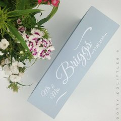 'Personalised' Wedding & Anniversary Tray