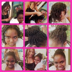 Styles By Princess Zawadi Appointment Deposit For Adults & Children 2 Strand Kinky Twist Extension