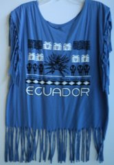 H2BN Ancient Ones ECUADOR Fringe T-Shirt