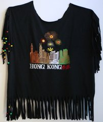 H2BN Yamassee Fringe Hong Kong Beaded T-Shirt