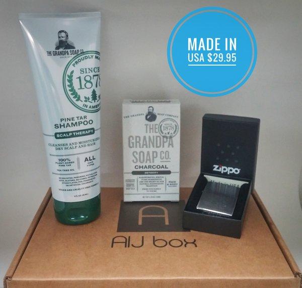 AIJ Mens Gift Box