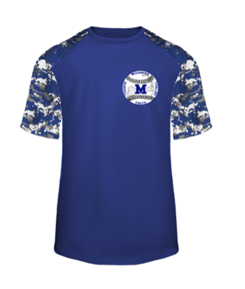 MASHPEE YOUTH BASEBALL 4152/2152 DIGITAL CAMO TEE