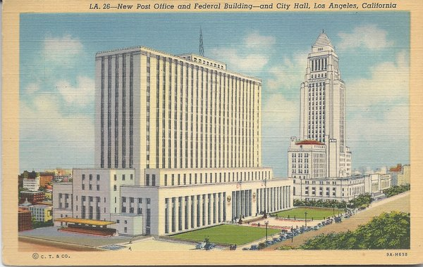 New Post Office And Federal Building Los Angeles