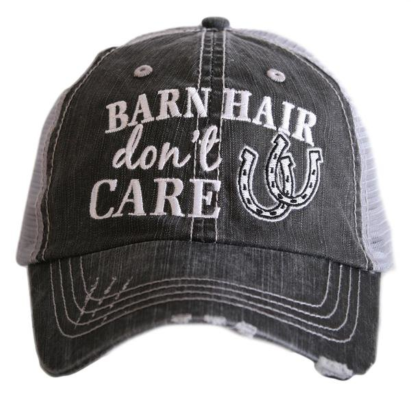 Barn Hair Don T Care Trucker Hat The Wicked Pony Tack