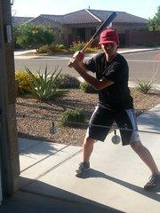 2 Ball Baseball Swing Line