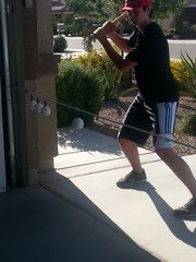 4 Ball Baseball Swing Line