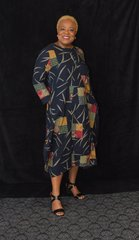 AfriPrint Baggy Dress