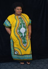 Dashiki Dress -Zipper Front