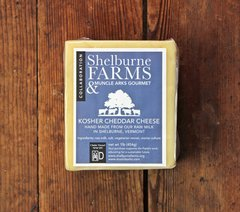 1 - 10 pound block Shelburne Farms Cheese (out of code)