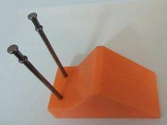 Orange Pipe Chocks (100 pack) - FREE US SHIPPING