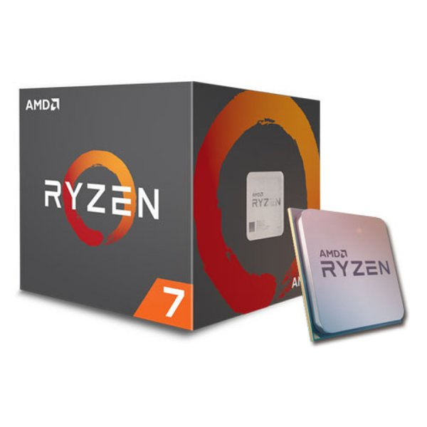 AMD Ryzen 7 Series Octa Core Processor 1700 - With Wraith Spire Cooling Solution (AM4 Socket, 20MB Cache, Up To 3.7 GHz)