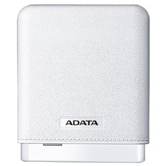 Adata Powerbank PV150 10000mah White For Tablets, Mobiles (White)