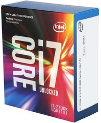 Intel® Core™ i7-7700K Processor 8M Cache, up to 4.50 GHz 7th Generation