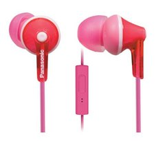 Panasonic RP-TCM125-P Wired Headset With Mic (Pink)