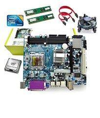 Zebronics Motherboard Kit With 2.4Ghz Intel Core2 Duo CPU + 2GB DDR2 RAM + Intel CPU FAN COMBO