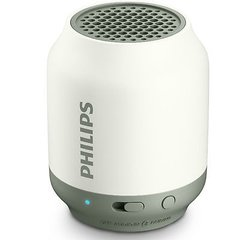 Philips BT50W/00 Portable Bluetooth Mobile/Tablet Speaker (White)
