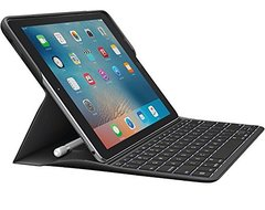 Logitech Backlit Keyboard Case with Apple Pencil holder and Smart Connector for iPad Pro 9.7 inch (920-008101)