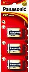 Panasonic 3pcs 9 Volt Zinc Carbon Alkaline Battery With 6pcs AA Size Zinc carbon Alkaline Battery (Combo)