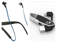Jabra Halo Smart Bluetooth Headset (Blue) with Rce-Surge USB Data Cable (Blue) Worth Rs 599/- FREE