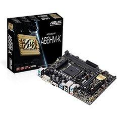 Asus A68HM-K - DDR3 FM2+ Socket AMD MotherBoard (FM2+ Socket, A68H FCH Chipset, DDR3 2400+)