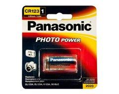 PANASONIC CR-123 3V Lithium Photo Alkaline Battery.