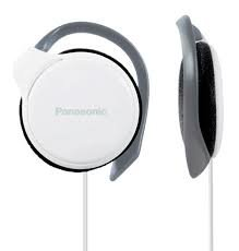 Panasonic RP-HS46E-W Slim Ear-hook Headphone (White)
