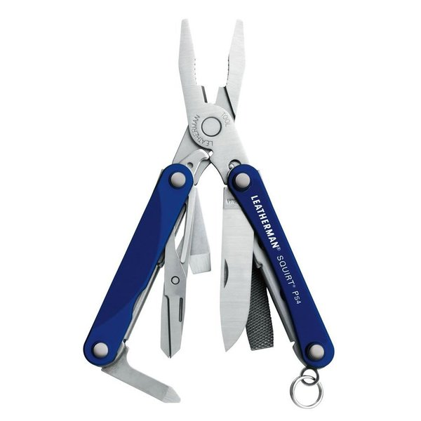 Leatherman Squirt PS4 Multitool (Blue)