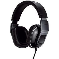 Panasonic HT480 Stereo Headphones Headset With Remote Mic - Black