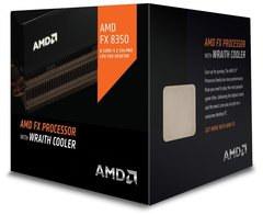 AMD CPU FD8350FRHKHBX FX-8350 8Core AMD AM3+ 16MB 4200MHz 125W with Wraith Cooler Retail