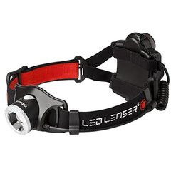 LED Lenser H7.2 German LED Headlamp (Black)