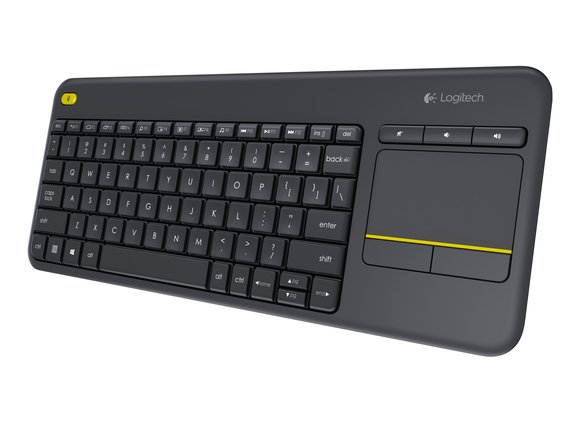 Logitech K400 Plus Wireless Keyboard (Black) Works with Windows® 7, Windows 8, Windows 10 or later Android™ 5.0 or later Chrome OS™