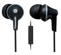 Panasonic RP-TCM125-K Wired Headset With Mic (Black)