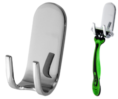 LaLoo Bathroom Accesories - Razor Hook