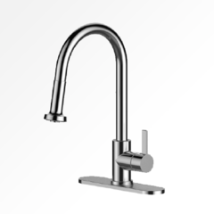 Vogt Laundry Faucet , Brushed Nickel
