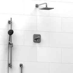 (P13) RIOBEL's SALOME - Coaxial 2-way system with hand shower and shower head (KIT#323SAC)