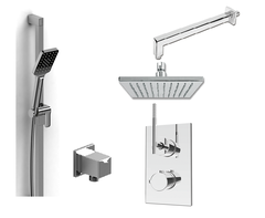 Ana Modern Square Shower System