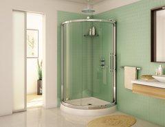 Corner Shower Curved - Fleurco Sorrento Arc