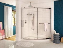 Corner Shower Curved - Fleurco Sorrento Slice