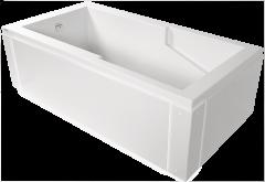 Sherlic Quad 5 2 Sided Apron Bath Tub 60 Quot X 32