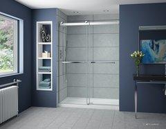 Fleurco Gemini Plus Frameless By-Pass Shower Door NPT160