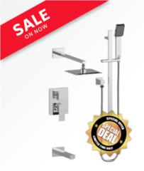 Vogt Bathroom Faucet Kapfenberg 3-way Shower System
