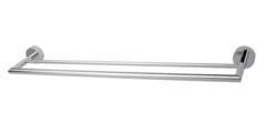 """Chloé - Viso Double towel bar 24"""". Chrome"""