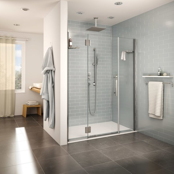 Shower Base Fleurco Accesible Design ADA Compliant CORNERSTONE BATH