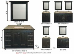 "Universal Bathroom Vanity 24""-30""-36""-42""-48""-54""-60""-72"""