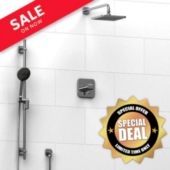 Salome Type T/P ½'' coaxial 2-way system with hand shower and rain shower .
