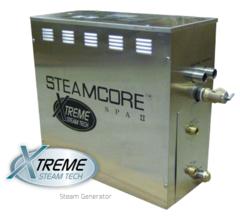 STEAM SHOWER GENERATOR - STEAMCORE SPA II (SSII Round Package 6KW)