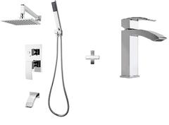 RUBI Fall Shower / Faucet Combo 1