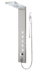 TENZO TZST-08 STAINLESS STEEL SHOWER COLUMN with LED light