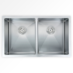 "Vogt Kitchen Sink Bludenz 16R (""32""x18""x10"") Undermount"
